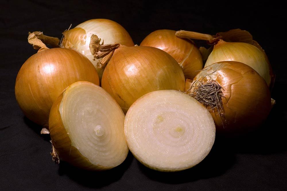 Cebollas blancas